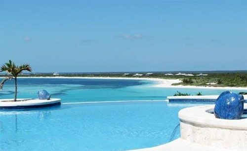 piscina hotel lujo abaco club on winding bay