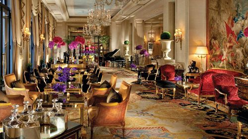 comedor hotel lujo four seasons george v