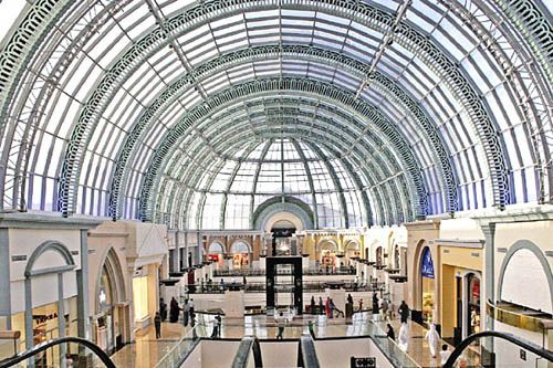centro comercial lujo mall of emirates dubai
