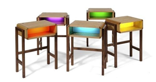 mesilla noche night light table diseñador charlie crowther