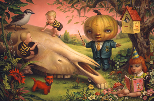 the pumpkin president mark ryden