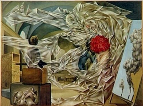 a very happy picture dorothea tanning