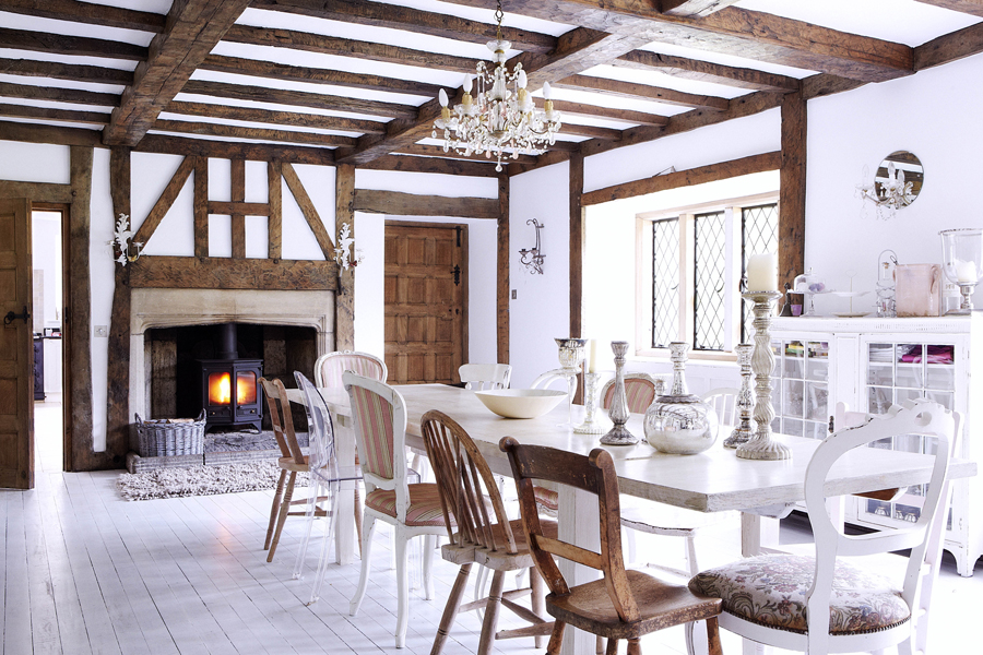 Decoraci n rural que se acerca al shabby chic moove magazine - Decoracion casa rural ...