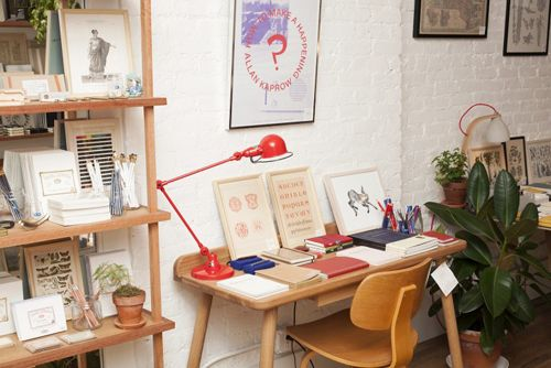 McNally-Jackson-Store-Jielde-lamp-Another-Country-desk-Remodelista