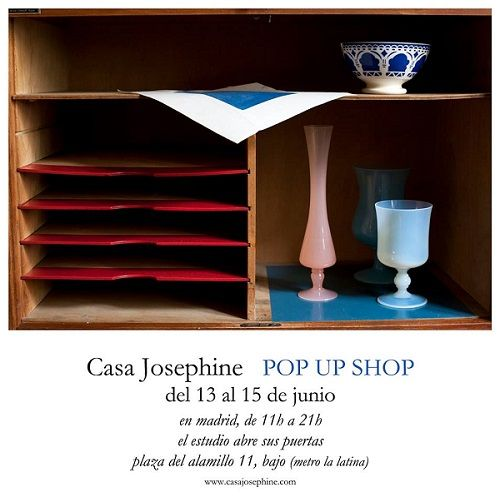 Pop Up Shop Casa Josephine Madrid