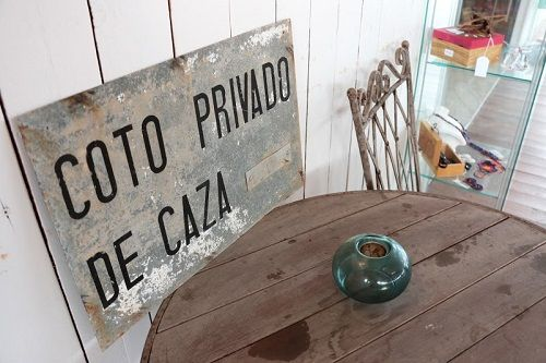 Cartel decorativo