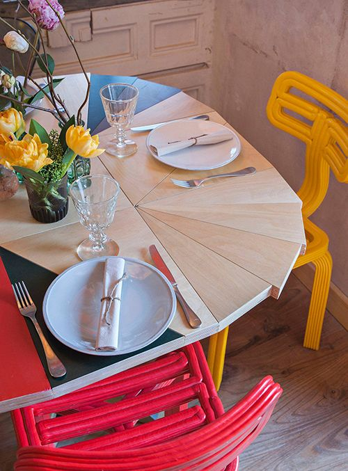 colorful table mama campo diseño mobiliario pablo limon