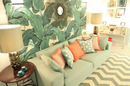 decoración tropical 3