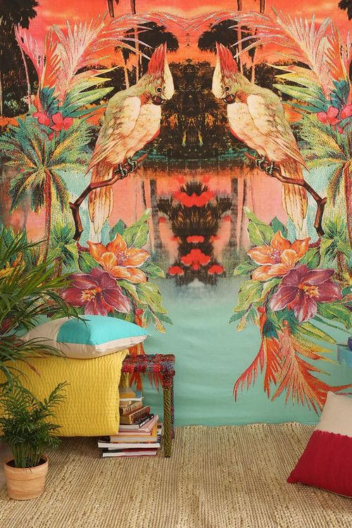decoración tropical 9