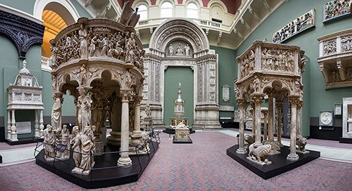 victoria and albert museum museo londres arte diseño cast courts