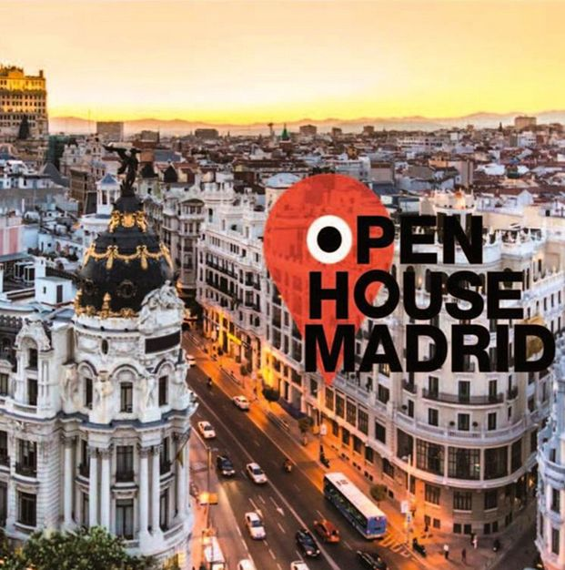 cartel promocion open house madrid