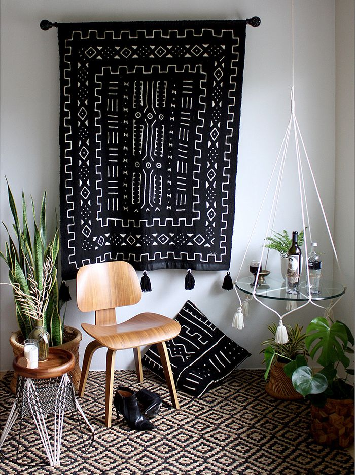 tela tapiz mud cloth