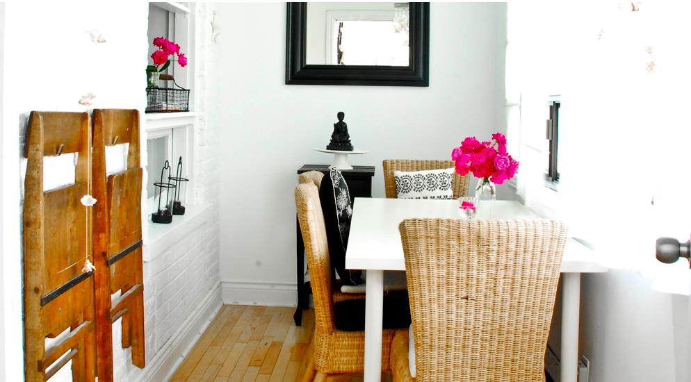 El «antes y después» de una sala de estar