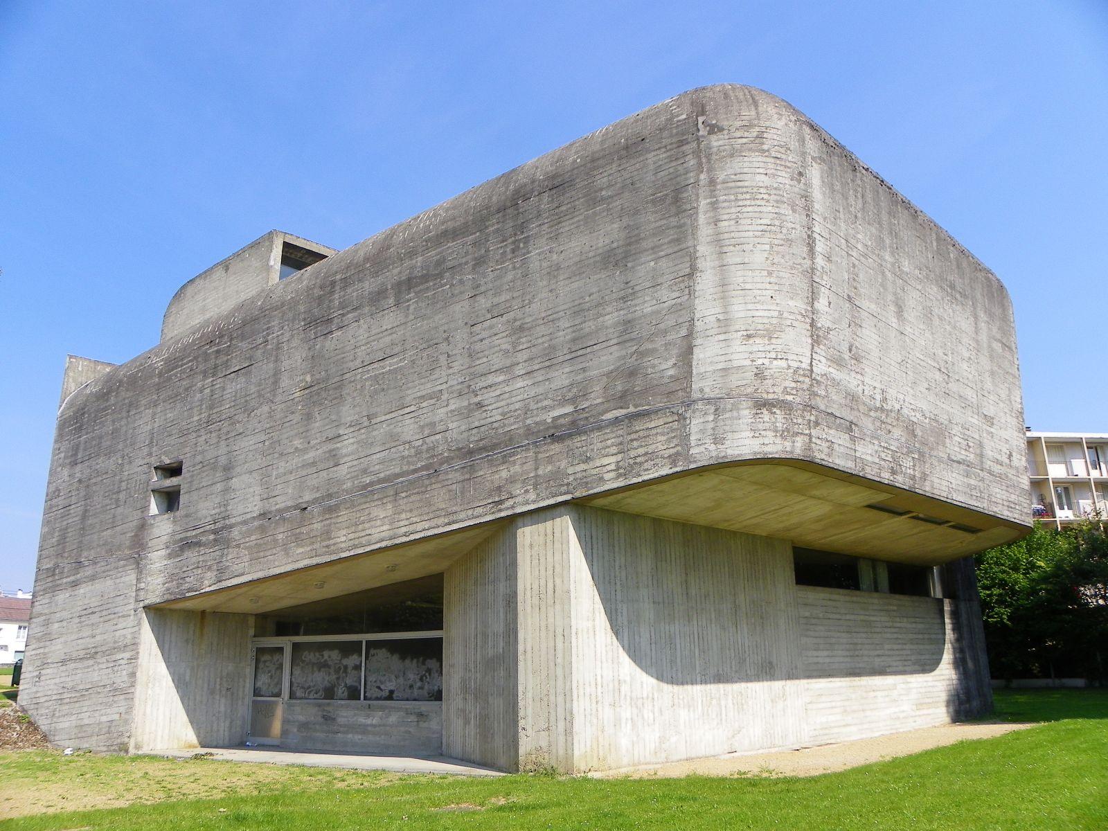 Claude Parent y la arquitectura oblicua