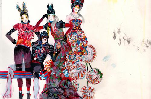 Cinco ilustradores de moda que deberías conocer