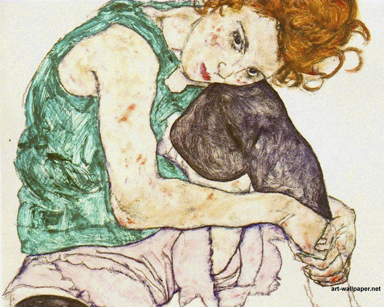 Exposición de Egon Schiele. Expresionismo en Bilbao