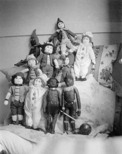 maria cantadros dolls muñecas fotografa imogen cunningham
