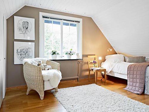 fotografia atico decorado sillones blancos ventana