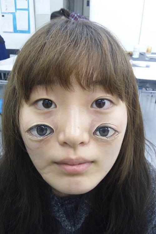 trabajo bosy art ojos mejillas artista japonesa chooo san