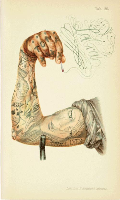 shattered brazo tatuado dr lakra