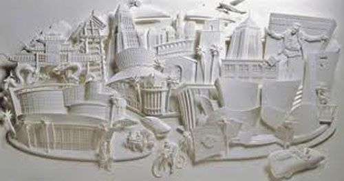 the savoy escultura papel jeff nishinaka