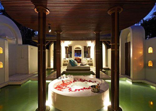 dormitorio hotel lujo anantara kihavah villas