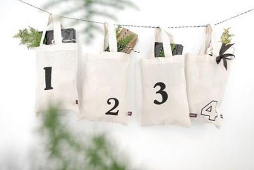 calendario adviento bolsitas algodos indulgy