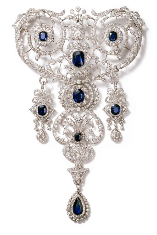 broche devant de corsage firma joyas francesa cartier