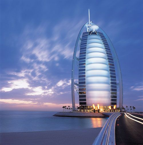 hotel lujo burj al arab