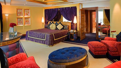 dormitorio hotel lujo burj al arab