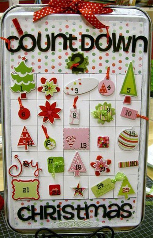 calendario adviento caja galletas imanes