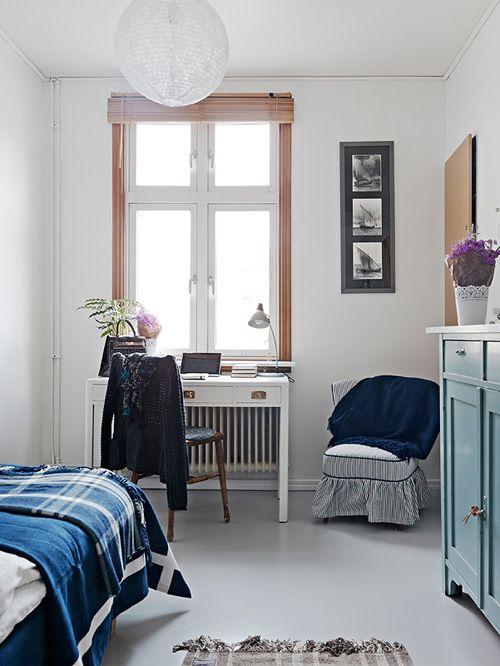 dormitorio casa nordica estocolmo suecia