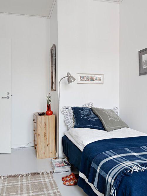 dormitorio casa norodica estocolmo suecia