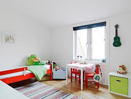 habitacion infantil casa nordica estocolmo suecia