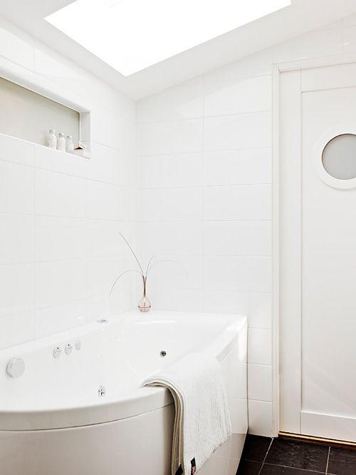 detalle cuarto baño casa nordica estocolmo suecia