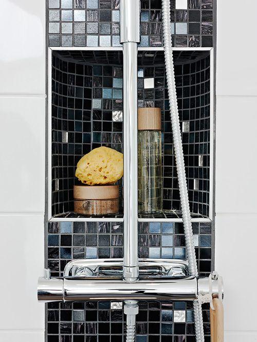 detalle ducha cuarto baño casa nordica estocolmo suecia