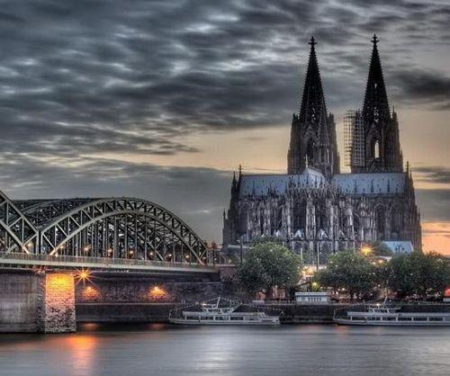 catedral rio ciudad colonia alemania