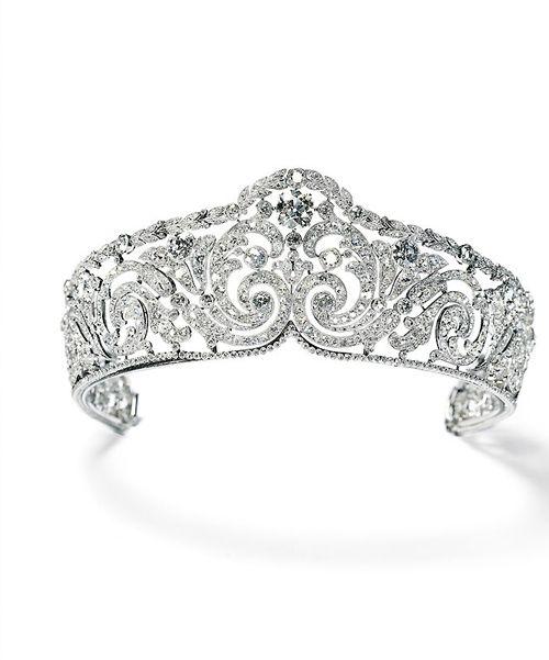 diadema rinceaux marca joyas cartier para isabel reina belgas