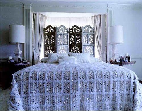 dormitorio marroqui handira blanco