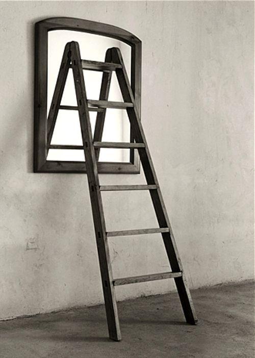 escalera espejo chema madoz