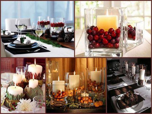 ideas decoracion velas navidad