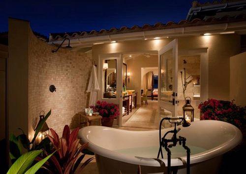 hotel lujo bañera jumby bay a rosewood resort