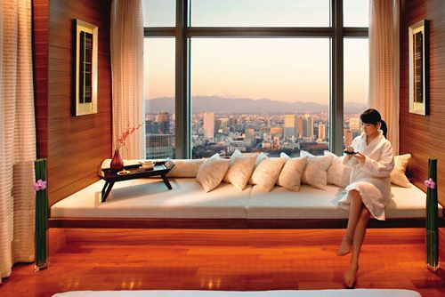 baño hotel lujo mandarin oriental tokyo
