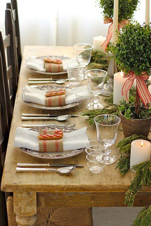 mesa natural arboles verde marron