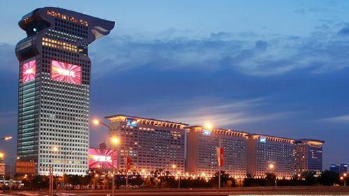 edificio hotel lujo pangu plaza