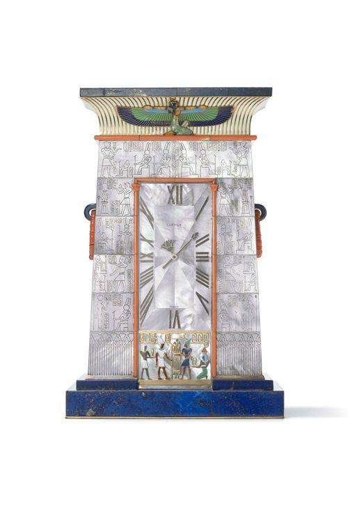 reloj egipcio firma joyas cartier para señora blumenthal