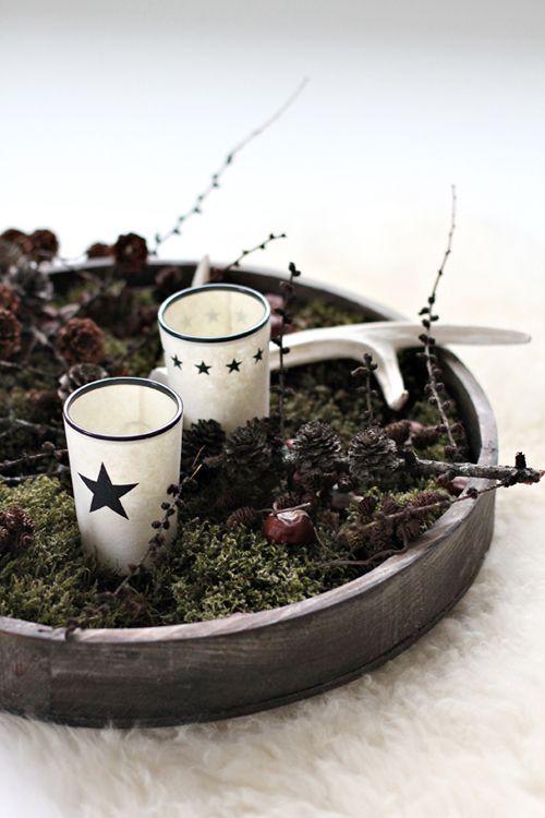 decoracion navidad naturaleza ramas stylizimo