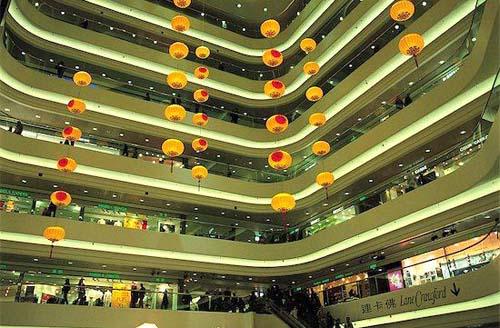centro comercial lujo times square hong kong