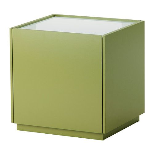 mesilla noche cubo verde tienda ikea