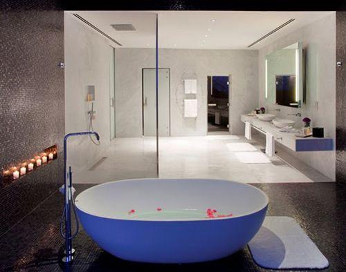 baño hotel lujo yas viceroy abu dhabi